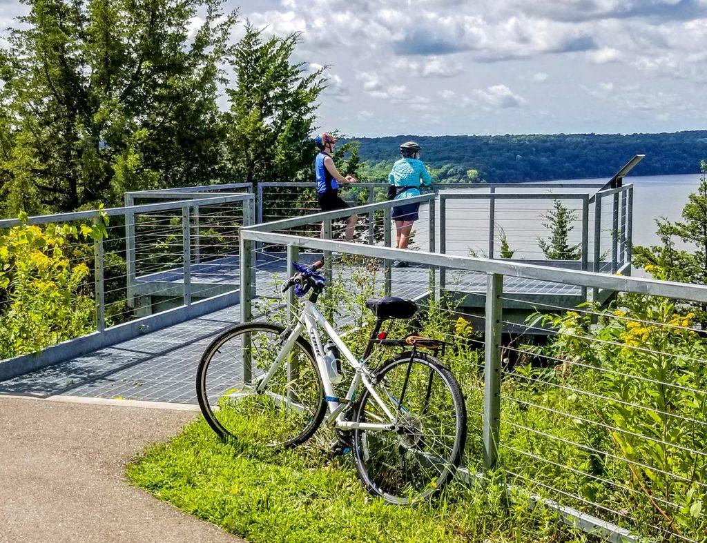 biking trail overlook