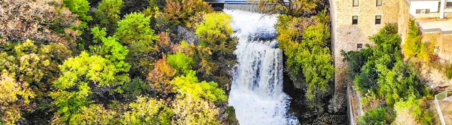 Arial-Vermillion-Falls